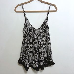 🌼 Urban Outfitters Ecote Pattern Tank Top, Small